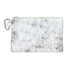 Grunge Pattern Canvas Cosmetic Bag (large)