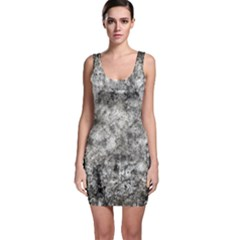 Grunge Pattern Bodycon Dress