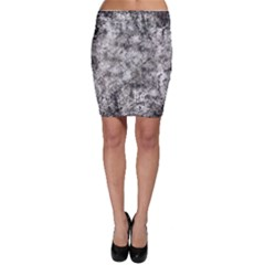 Grunge Pattern Bodycon Skirt