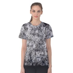 Grunge Pattern Women s Cotton Tee