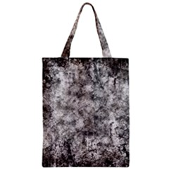 Grunge Pattern Zipper Classic Tote Bag