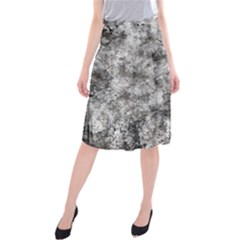 Grunge Pattern Midi Beach Skirt