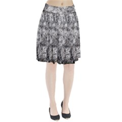 Grunge Pattern Pleated Skirt