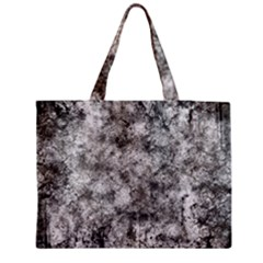 Grunge Pattern Zipper Medium Tote Bag