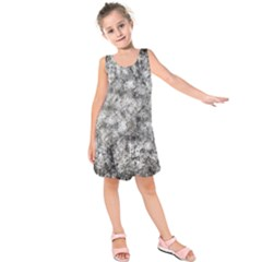 Grunge Pattern Kids  Sleeveless Dress
