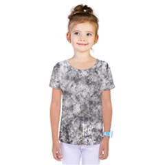 Grunge Pattern Kids  One Piece Tee