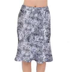 Grunge Pattern Mermaid Skirt