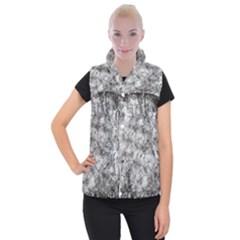 Grunge Pattern Women s Button Up Vest