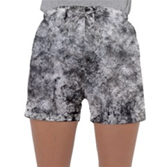 Grunge Pattern Sleepwear Shorts