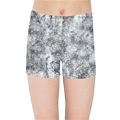 Grunge Pattern Kids Sports Shorts