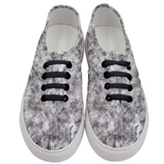 Grunge Pattern Women s Classic Low Top Sneakers