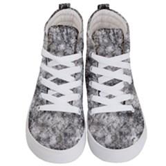 Grunge Pattern Kid s Hi Top Skate Sneakers