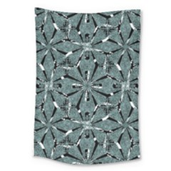 Modern Oriental Ornate Pattern Large Tapestry