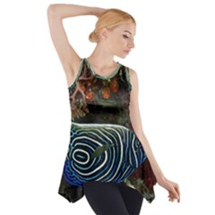 Angelfish 2 Side Drop Tank Tunic