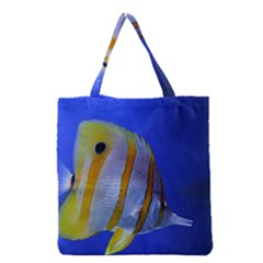 Butterfly Fish 1 Grocery Tote Bag