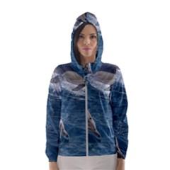 Dolphin 4 Hooded Wind Breaker (women)