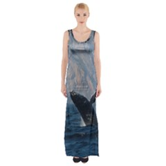 Humpback 1 Maxi Thigh Split Dress
