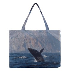 Humpback 1 Medium Tote Bag