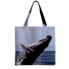 Humpback 2 Grocery Tote Bag