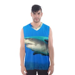 Lemon Shark Men s Basketball Tank Top