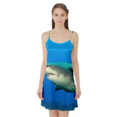 Lemon Shark Satin Night Slip