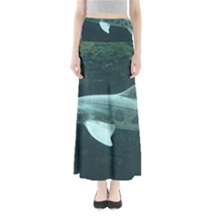 Leopard Shark Full Length Maxi Skirt