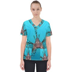 Lionfish 2 Scrub Top