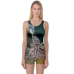 Lionfish 4 One Piece Boyleg Swimsuit