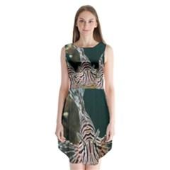 Lionfish 4 Sleeveless Chiffon Dress