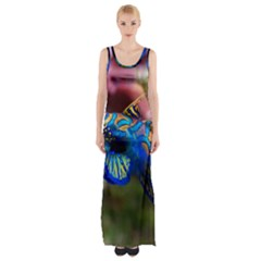 Mandarinfish 1 Maxi Thigh Split Dress