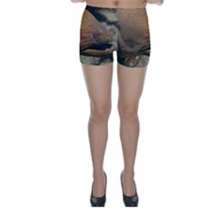 Moray Eel 1 Skinny Shorts