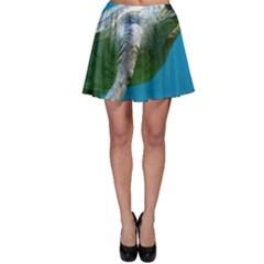 Sea Turtle 2 Skater Skirt