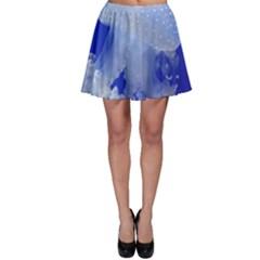 Spotted Jellyfish Skater Skirt