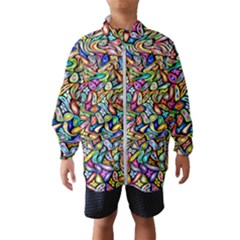 Artwork By Patrick Colorful 6 Wind Breaker (kids)