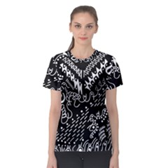 Chicken Hawk Invert Women s Sport Mesh Tee