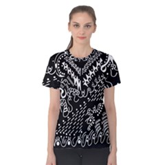 Chicken Hawk Invert Women s Cotton Tee