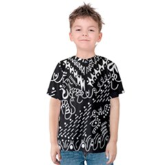 Chicken Hawk Invert Kids  Cotton Tee