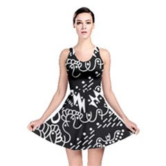 Chicken Hawk Invert Reversible Skater Dress