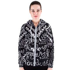 Chicken Hawk Invert Women s Zipper Hoodie