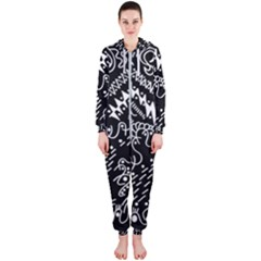 Chicken Hawk Invert Hooded Jumpsuit (ladies)