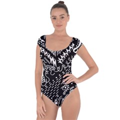 Chicken Hawk Invert Short Sleeve Leotard