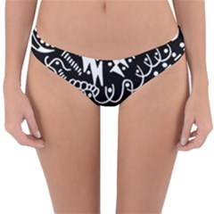 Chicken Hawk Invert Reversible Hipster Bikini Bottoms