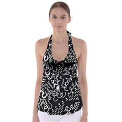 Chicken Hawk Invert Babydoll Tankini Top