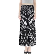 Chicken Hawk Invert Full Length Maxi Skirt