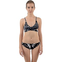 Chicken Hawk Invert Wrap Around Bikini Set