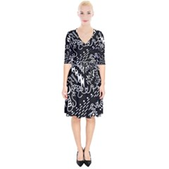 Chicken Hawk Invert Wrap Up Cocktail Dress