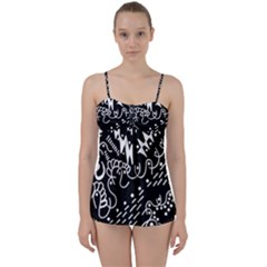 Chicken Hawk Invert Babydoll Tankini Set
