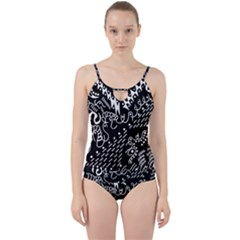 Chicken Hawk Invert Cut Out Top Tankini Set