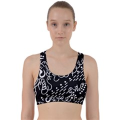 Chicken Hawk Invert Back Weave Sports Bra