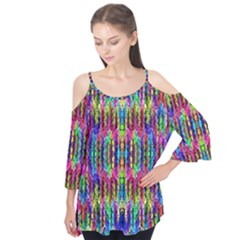 Colorful 7 Flutter Tees